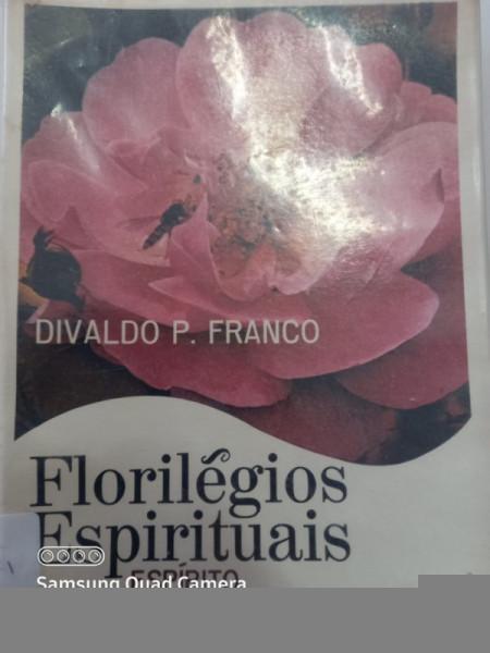 Capa de Florilégios espirituais - Divaldo P. Franco; Espírito Francisco do Monte Alverne