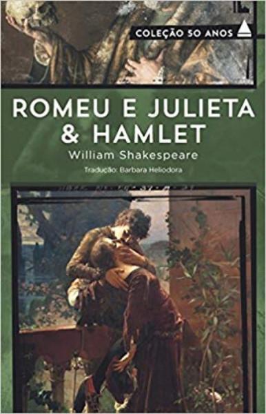 Capa de Romeu e Julieta & Hamlet - William Shakespeare