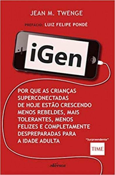 Capa de Igen - Jean M. Twenge