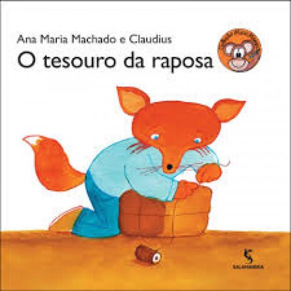 Capa de O tesouro da raposa - Ana Maria Machado; Claudius