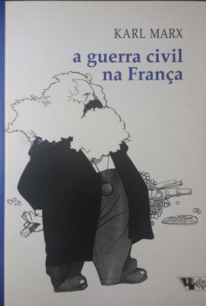Capa de A guerra civil na França - Karl Marx