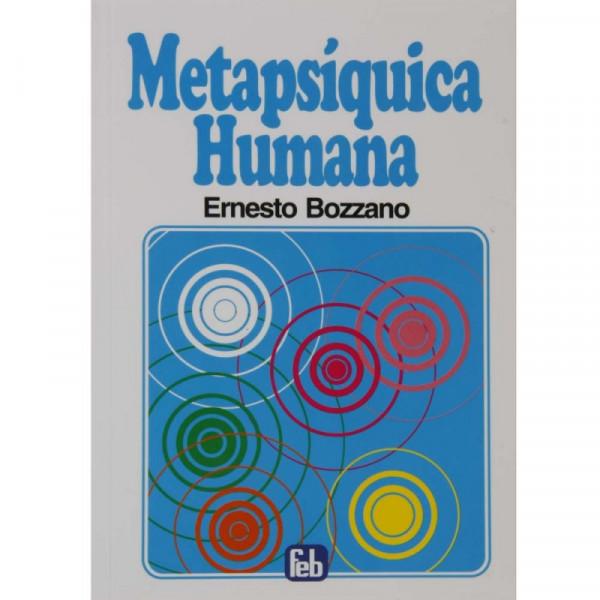 Capa de Metapsíquica humana - Ernesto Bozzano