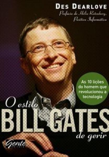 Capa de O Estilo Bill Gates de Gerir -
