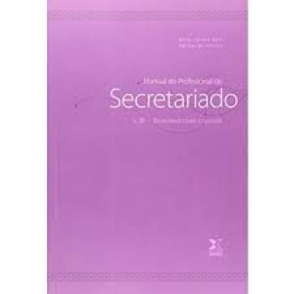 Capa de Manual do Profissional de Secretariado - v. III -