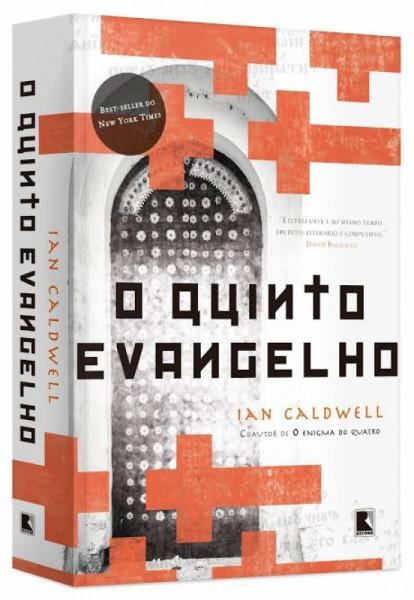 Capa de O quinto evangelho - Ian Caldwell
