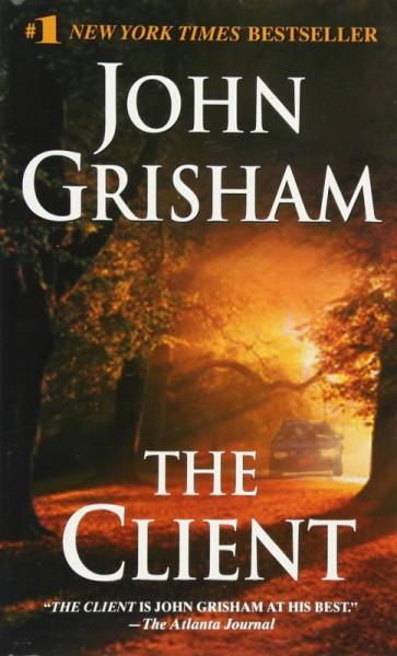Capa de The client - John Grisham