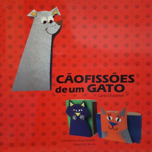 Capa de Cãofissões de Um Gato - Carla Chastinet