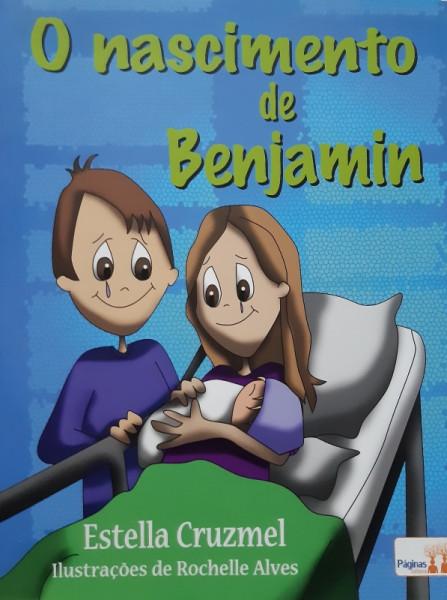 Capa de O Nascimento de Benjamim - Estella Cruzmel