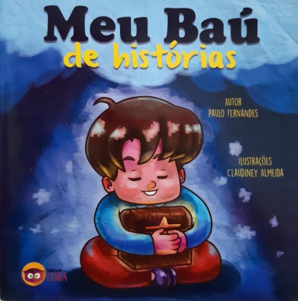 Capa de Meu Baú de Histórias - Paulo Fernandes