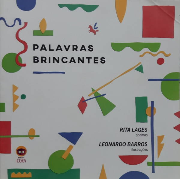 Capa de Palavras Brincantes - Rita Lages