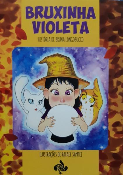 Capa de Bruxinha Violeta - Bruna LongoBucco