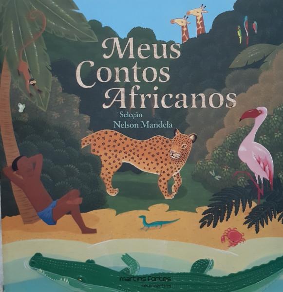 Capa de Meus contos africanos - Nelson Mandela (seleção)