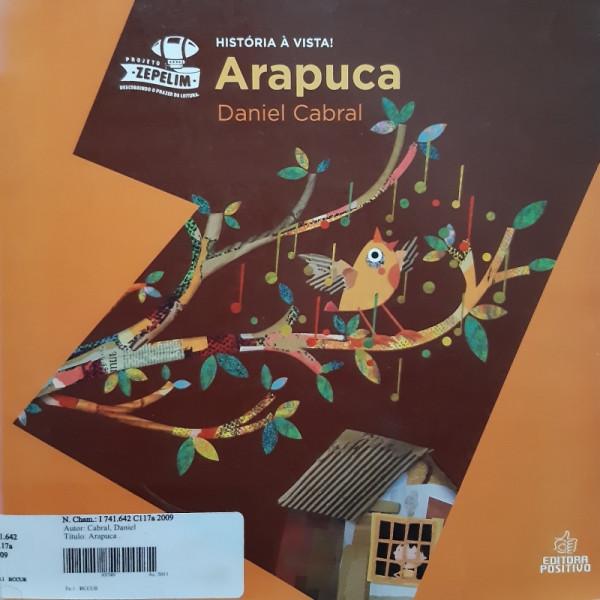 Capa de Arapuca - Daniel Cabral