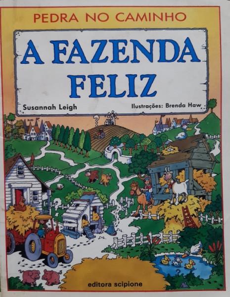 Capa de A Fazenda Feliz - Susannah Leigh