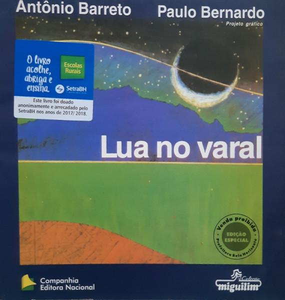Capa de Lua no Varal - Antônio Barreto