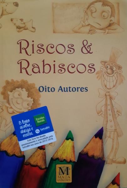 Capa de Riscos e Rabiscos - Oito Autores