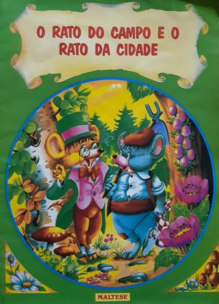 Capa de O Rato do Campo e o Rato da Cidade - Olga Cafalcchio Tradução