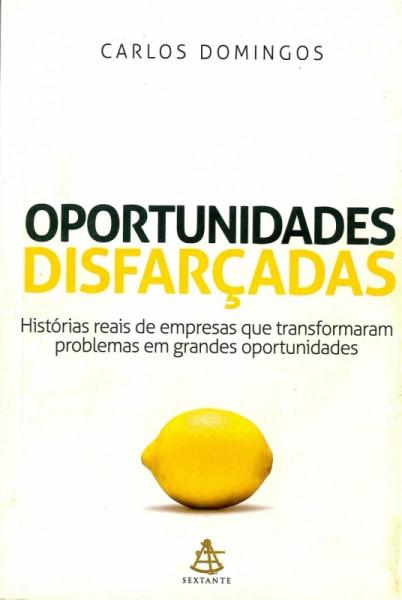Capa de Oportunidades Disfarçadas - Carlos Domingos