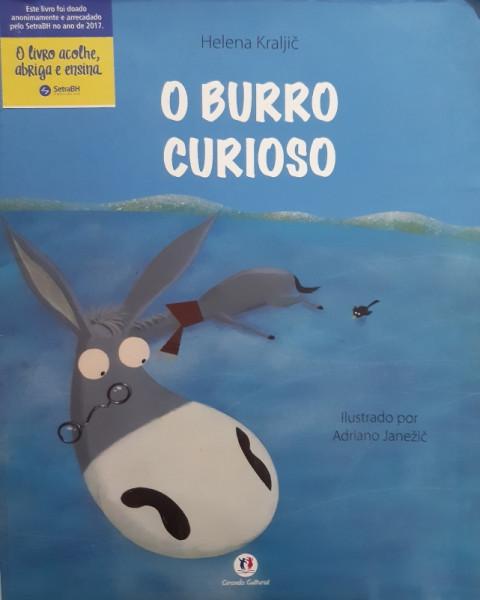 Capa de O Burro Curioso - Helena Kraljic