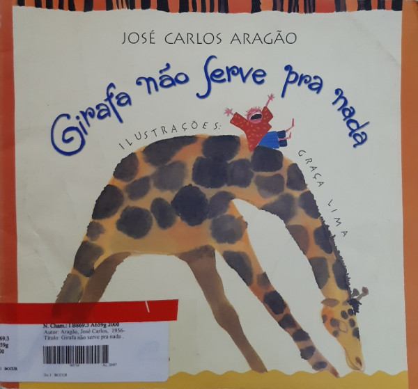 Capa de Girafa Não Serve Pra Nada - José Carlos Aragão