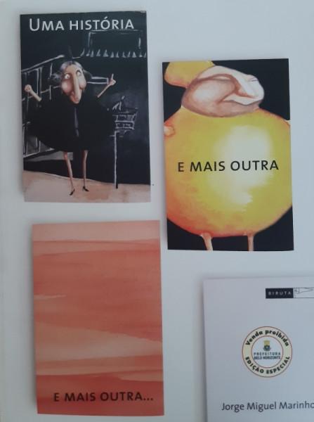 Capa de Uma História e mais Outra e mais Outra... - Jorge Miguel Marinho