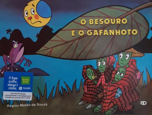 Capa de O Besouro e o Gafanhoto - Regina Mellilo de Souza
