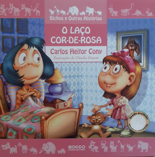Capa de O Laço Cor-de-Rosa - Carlos Heitor Cony