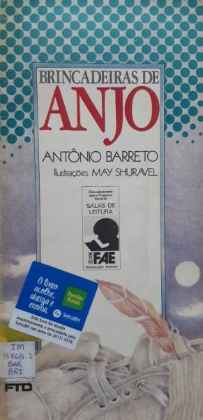 Capa de Brincadeiras de Anjo - Antônio Barreto