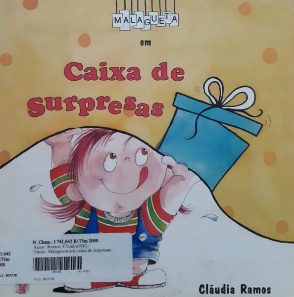 Capa de Caixa de Surpresas - Cláudia Ramos