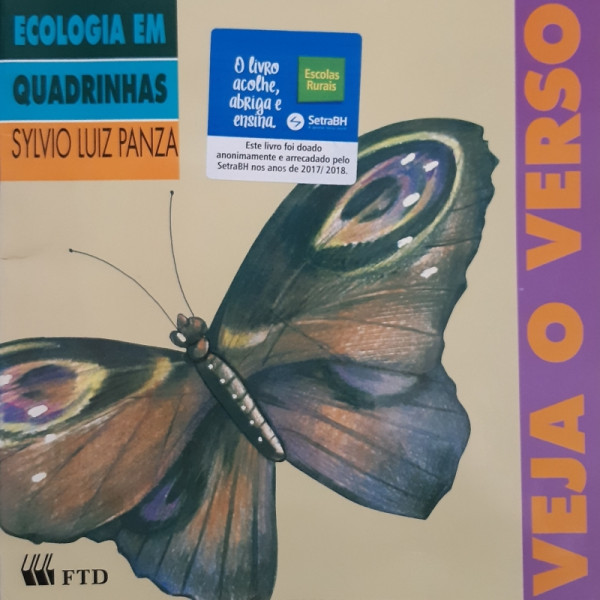 Capa de Veja o Verso - Sylvio Luiz Panza