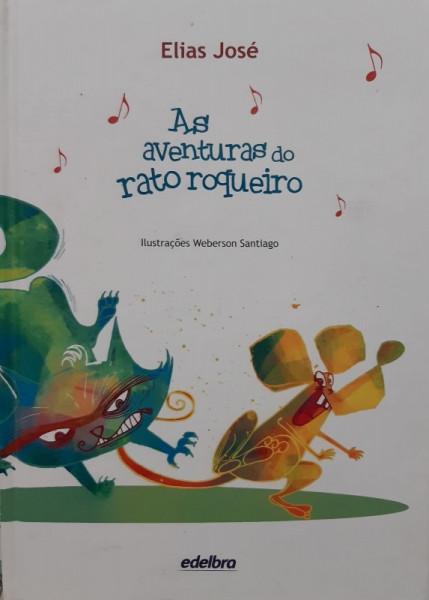 Capa de As Aventuras do Rato Roqueiro - Elias José