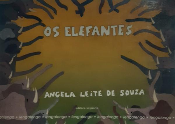 Capa de Os Elefantes - Angela Leite de Souza