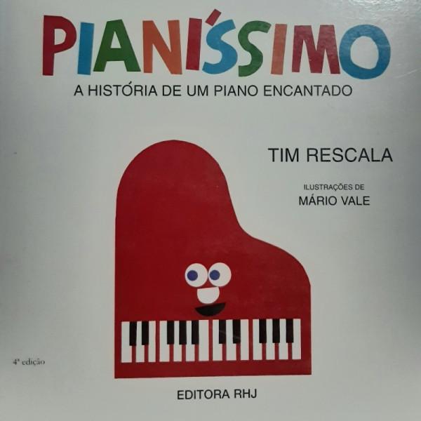 Capa de Pianíssimo - Tim Rescala