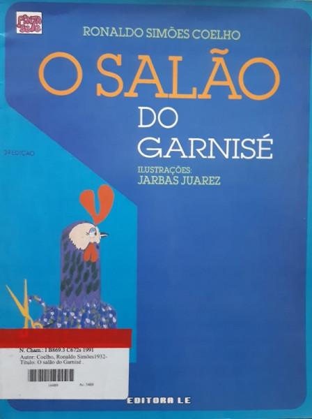 Capa de O Salão do Garnizé - Ronaldo Simões Coelho