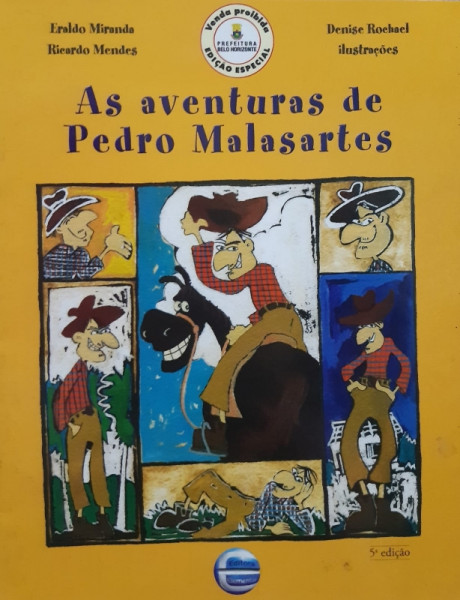 Capa de As Aventuras de Pedro Malasartes 1 - Eraldo Miranda e Ricardo Menes