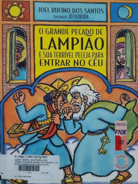 Capa de O Grande Pecado de Lampião - Joel Rufino dos Santos