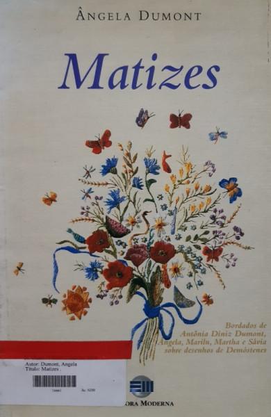 Capa de Matizes - Ângela Dumont