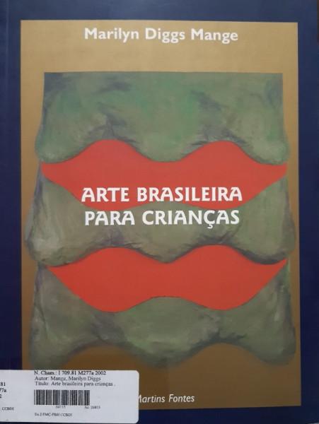 Capa de Arte Brasileira Para Crianças - Marilyn Diggs Mange