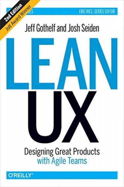 Capa de Lean UX -