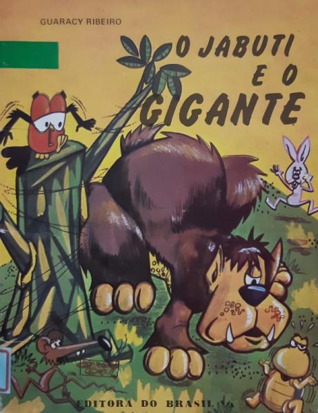 Capa de O Jabuti e o Gigante - Guaracy Ribeiro