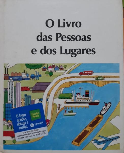 Capa de O Livro das Pessoas e dos Lugares - Desconhecido