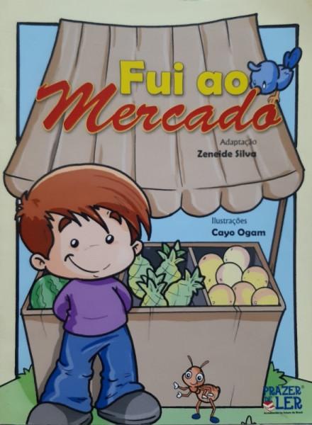 Capa de Fui ao Mercado - Zeneide Silva Adaptação