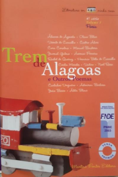 Capa de Trem de Alagoas e Outros Poemas - Vários Coordenação: Luiz Lorenzo Rivera