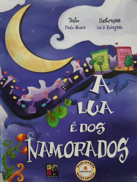 Capa de A Lua é dos Namorados - Paulo Moura
