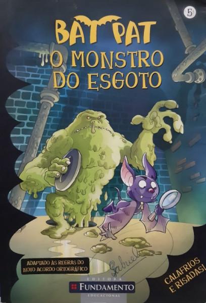 Capa de O Monstro do Esgoto - Roberto Panello