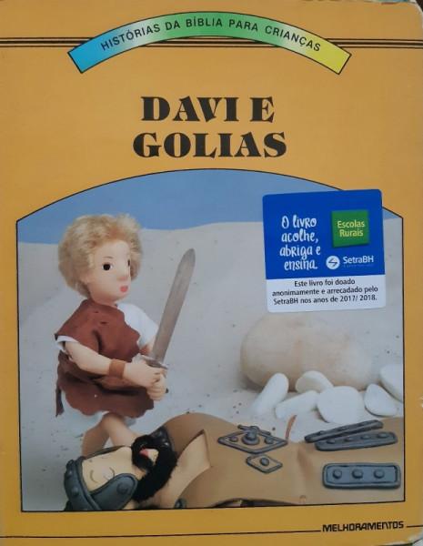 Capa de Davi e Golias - Aura Celeste O. R. Narimatsu