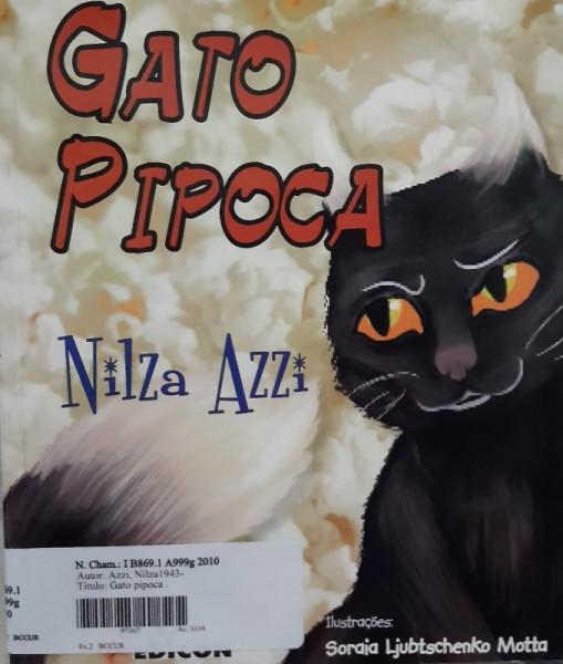 Capa de Gato Pipoca - Nilza Azzi