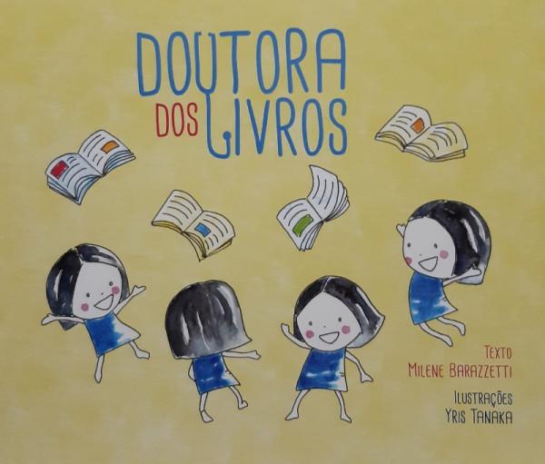 Capa de Doutora dos Livros - Milene Barazzetti