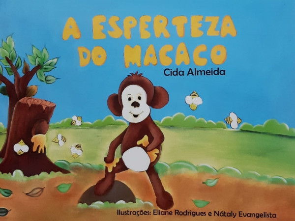 Capa de A Esperteza do Macaco - Cida Almeida