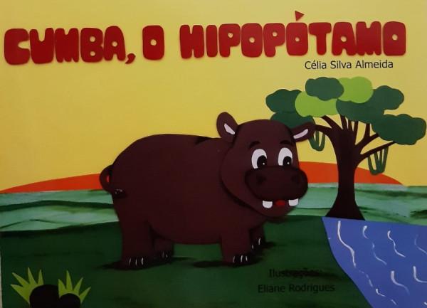 Capa de Cumba, o Hipopótamo - Célia Silva Almeida